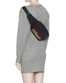 Flame strass waist bag