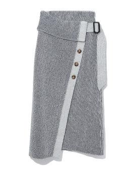 Micah Plaited Sculptural skirt