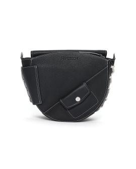 Lace up saddle bag