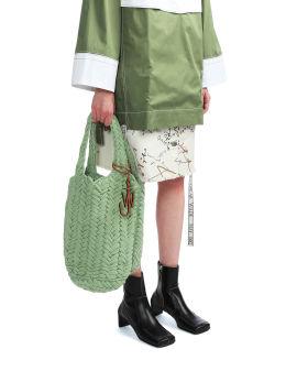Knitted shopper bag