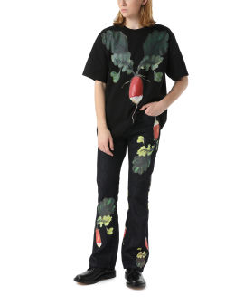 Veggie bootleg jeans