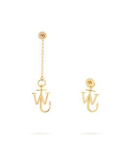 Asymmetric Anchor earrings
