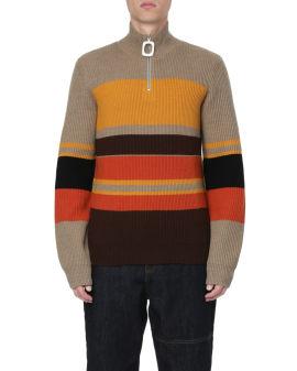 Puller colour block sweater