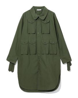 Military shirt tunic