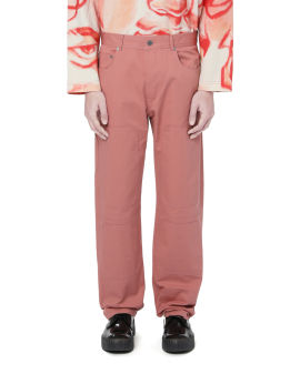 Straight-fit workwear trousers