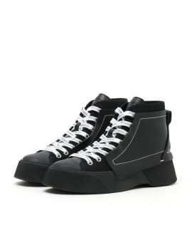 Panelled sneakers