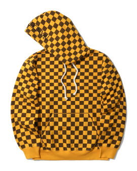 Checkerboard hoodie