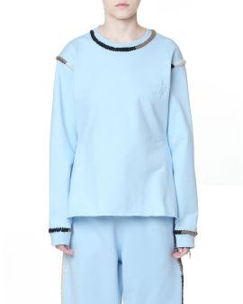 Contrasting sweatshirt