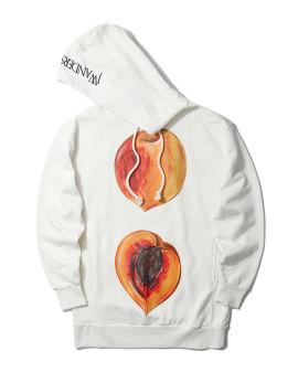 Oversized peach hoodie