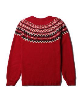 Logo knit sweater