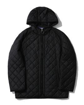Printed hooded jacket