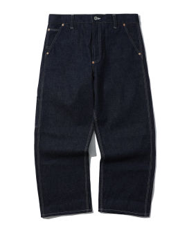Contrasting jeans