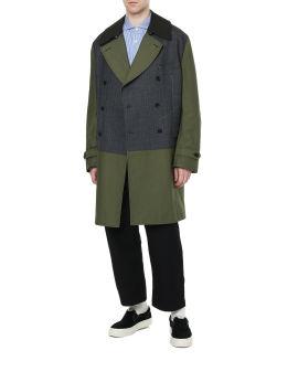 Panelled coat