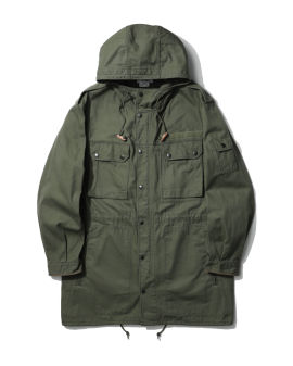 Pocketed coat