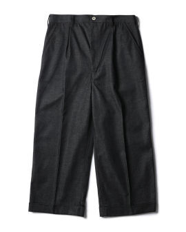 Pressed wide leg pants