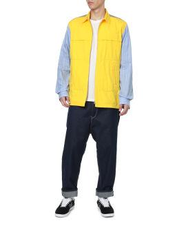Zip vest shirt
