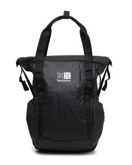 Embroidered two-way backpack
