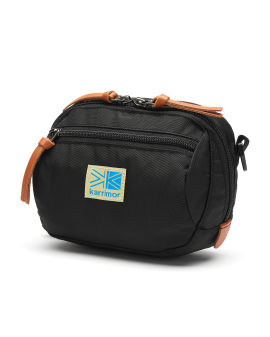 Logo patch crossbody bag