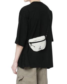 Logo zip hip bag