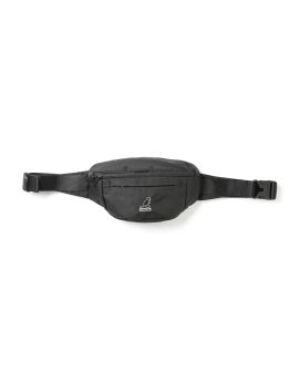 Logo patch waist bag