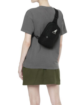 Logo embroidered fannypack