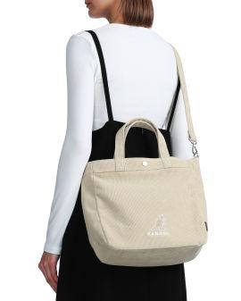 Logo crossbody tote bag