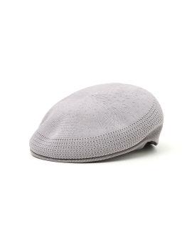 Logo knit flat cap
