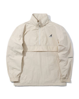 Logo turtleneck lightweight jacket
