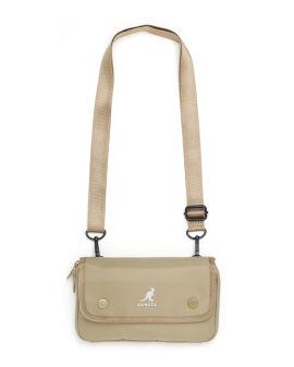 Logoc crossbody pouch