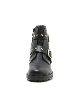 Stinger studded leather boots
