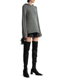 Elodie knit hoodie