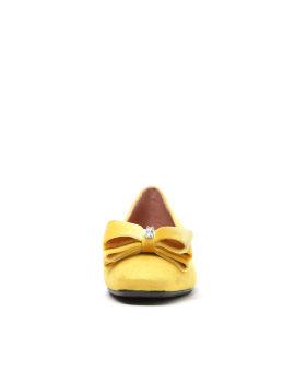 Bow-tie ballerina shoes