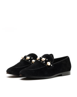 Jewelled loafers