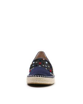 Platform slip-on shoes