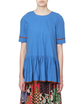 Ruffle blouse top