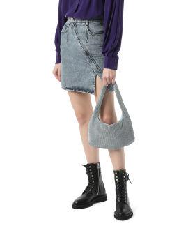 Crystal mesh bag