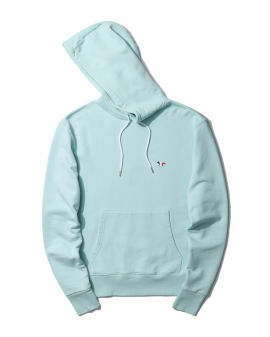 Fox patch hoodie