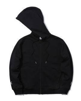 Logo zip-up hoodie