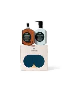 Body Double – Lemon Myrtle with Sandalwood and Eucalyptus 260ml x 2 set