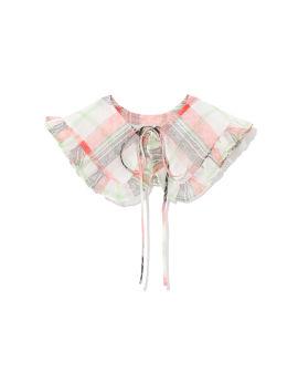 Plaid collar