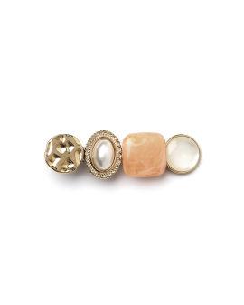 Stones embellished hair clip
