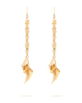 Beads drop earrings