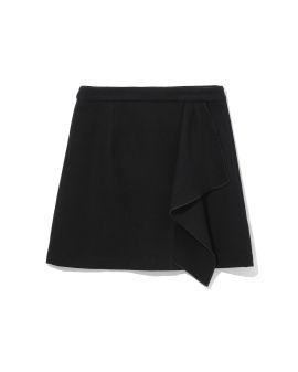 Layer drape skirt