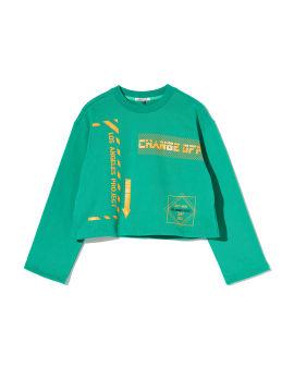 Change crop sweatshirt