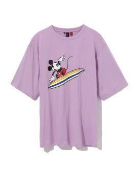 X Disney Mickey surfing tee