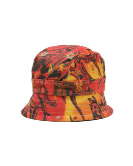 Fire denim hat