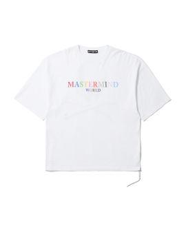 Multicolour logo tee