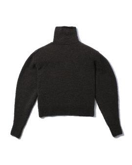 Zipped neck sweater