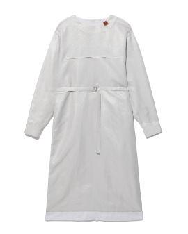 Belted panelled dress