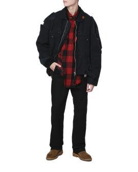 Distressed jacket